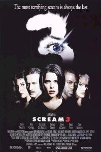 poster 'Scream 3' © 2000 Craven-Maddalena Films