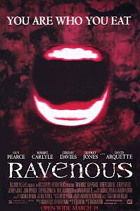 poster 'Ravenous' © 1999 20th Century Fox
