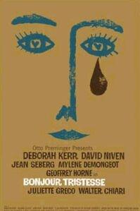poster 'Bonjour Tristesse' © 1958 Wheel Productions