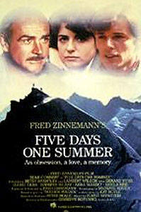 poster 'Five Days One Summer' © 1982 The Ladd Company
