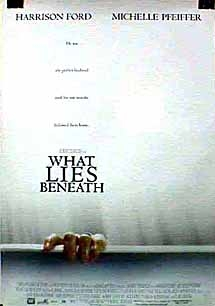 Filmposter 'What lies beneath'