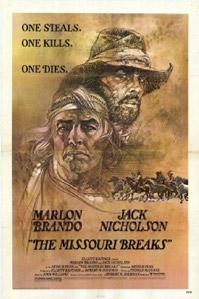 poster 'The Missouri Breaks' © 1976 Devon/Persky-Bright