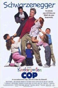 poster 'Kindergarten Cop' © 1990 Universal Pictures