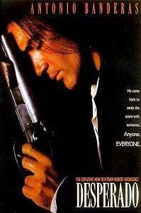 Antonio Banderas in 'Desperado' © 1995 Columbia