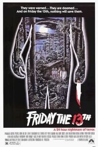 poster 'Friday the 13th' © 1980 Paramount Pictures