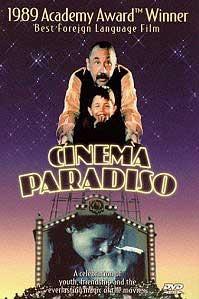 poster 'Nuovo Cinema Paradiso' © 1989 Miramax Films