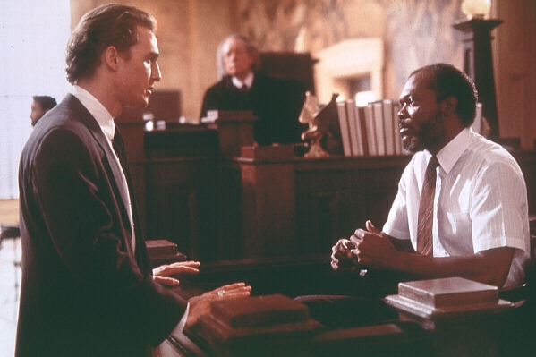 Matthew McConaughey, Samuel L. Jackson (c)1996 Warner Bros.