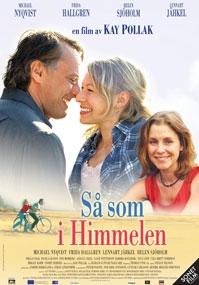 Poster Så som i himmelen
