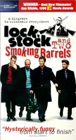 Filmposter 'Lock Stock and Two Smoking Barrels' © 2000 Columbia TriStar