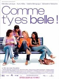 Poster Comme t'y es belle!