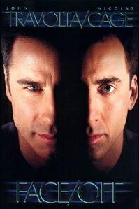 Poster van 'Face/Off' © 1997 BVI