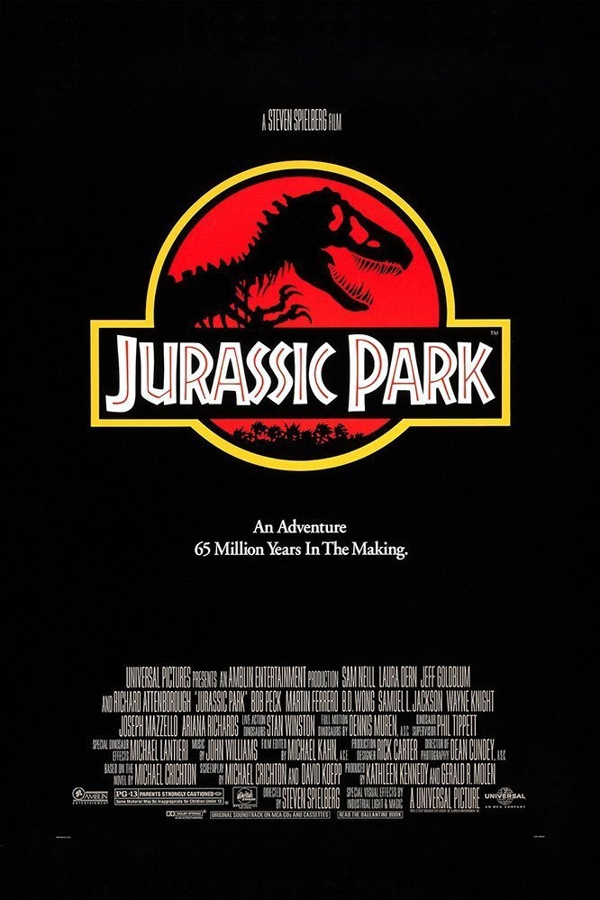 poster 'Jurassic Park' © 1993 Universal Pictures
