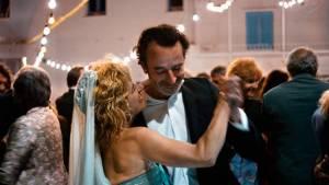7 Giorni: Linda Olsansky (Francesca) en Bruno Todeschini (Ivan)