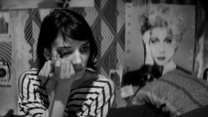 A Girl Walks Home Alone at Night: Sheila Vand (The Girl)