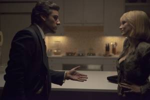 A Most Violent Year: Oscar Isaac (Abel Morales) en Jessica Chastain (Anna Morales)