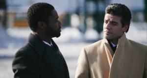 A Most Violent Year: David Oyelowo (Lawrence) en Oscar Isaac (Abel Morales)
