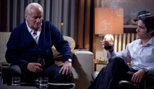 À perdre la raison: Niels Arestrup (André Pinget) en Tahar Rahim (Mounir)