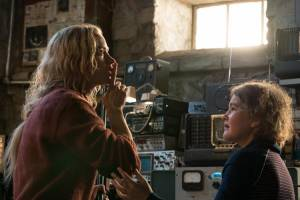 A Quiet Place: Emily Blunt (Evelyn) en Millicent Simmonds