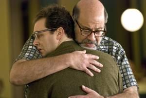 A Serious Man: Fred Melamed (Sy Ableman) en Michael Stuhlbarg (Larry Gopnik)