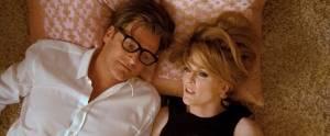 A Single Man: Colin Firth (George) en Julianne Moore (Charlotte)