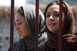 About Elly: Taraneh Alidoosti en Golshifteh Farahani (Sepideh)