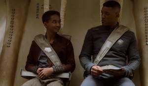 Jaden Smith (Kitai Raige) en Will Smith (Cypher Raige)