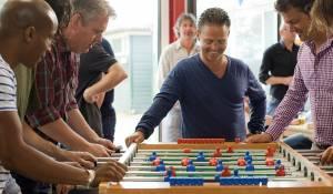 All Stars 2: Old Stars: Raymi Sambo (Paul), Thomas Acda (Willem), Danny de Munk (Bram) en Kasper van Kooten (Peter)