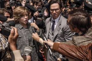 All the Money in the World: Michelle Williams (Gail Harris) en Mark Wahlberg (Fletcher Chase)