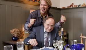 Alles is familie: Thijs Römer (Rutmer de Roover) en Kees Hulst (Arend de Roover)