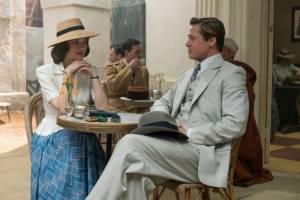 Allied: Marion Cotillard (Marianne Beausejour) en Brad Pitt (Max Vatan)