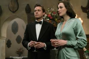 Allied: Brad Pitt (Max Vatan) en Marion Cotillard (Marianne Beausejour)
