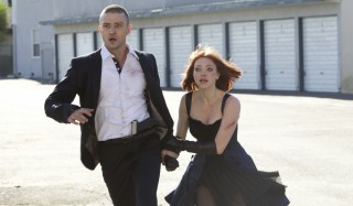 Justin Timberlake en Amanda Seyfried in In Time