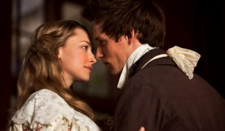 Amanda Seyfried en Eddie Redmayne in Les Misérables
