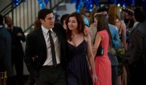 Jason Biggs (Jim) en Alyson Hannigan (Michelle Flaherty-Levenstein)