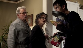 Martin Sheen, Sally Field en Andrew Garfield in The Amazing Spider-Man