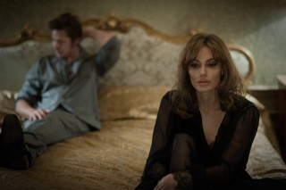 Angelina Jolie en Brad Pitt in By the Sea