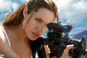 Angelina Jolie is Mrs. Smith