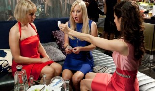 Ari Graynor, Anna Faris en Kate Simses in What's Your Number?