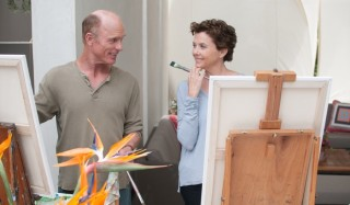 Ed Harris en Annette Bening in The Face of Love
