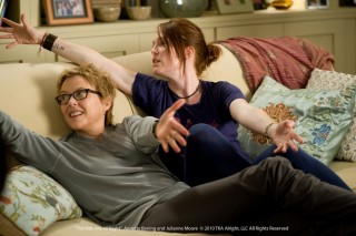 Annette Bening en Julianne Moore in The Kids Are All Right