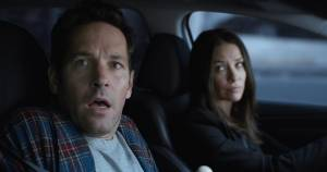 Ant-Man Marathon 3D: Paul Rudd (Scott Lang / Ant-Man) en Evangeline Lilly (Hope Van Dyne / Wasp)