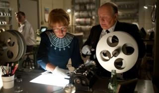 Helen Mirren en Anthony Hopkins in Hitchcock