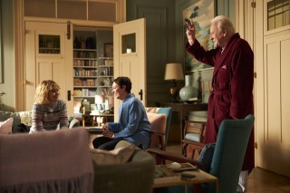 Imogen Poots, Olivia Colman en Anthony Hopkins in The Father