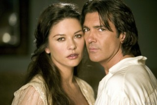 Antonio Banderas en Catherine Zeta-Jones in The Legend of Zorro