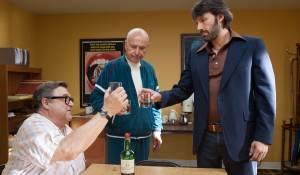 Argo: John Goodman (John Chambers), Alan Arkin (Lester Siegel) en Ben Affleck (Tony Mendez)