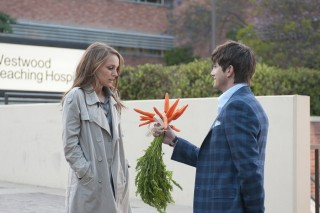 Natalie Portman en Ashton Kutcher in No Strings Attached