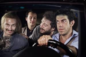 Pierfrancesco Favino (Marco), Adriano Giannini (Simone), Giorgio Pasotti (Adriano) en Claudio Santamaria (Paolo)