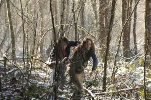Bad Samaritan: Robert Sheehan (Sean Falco) en Kerry Condon (Katie)