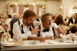 Barney's Version: Paul Giamatti (Barney Panofsky) en Dustin Hoffman (Izzy)