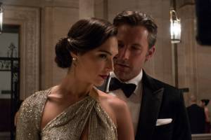 Batman v Superman: Dawn of Justice: Gal Gadot (Diana Prince / Wonder Woman) en Ben Affleck (Bruce Wayne / Batman)